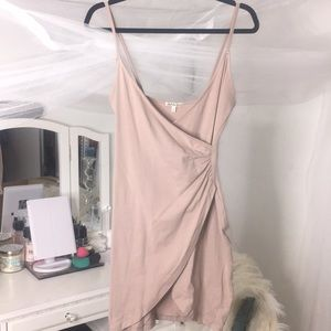 Charlotte Russe Dresses - 💕 nude Scrunched waist dress 💕